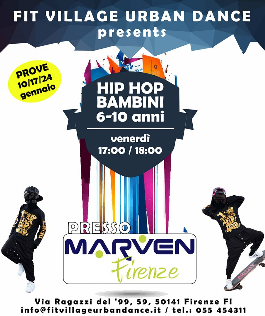 Hip Hop bambini Marven